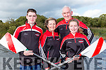 The O'Leary family Tom, Sarah, Irene and John from Workmens RC family connections that won the All Ireland Coastal Championships in Ballyshannon