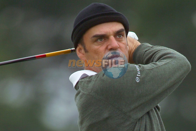 Smurfit Kappa European Open, K Club, Strafin, Co Kildare..Paul McGinley not looking to happy after his tee shot on the 15th during the 3rd round of the european open..Photo NEWSFILE/Eoin Clarke..(Photo credit should read Eoin Clarke/NEWSFILE)...This Picture has been sent you under the condtions enclosed by:.Newsfile Ltd..the Studio,.Millmount Abbey,.Drogheda,.Co Meath..Ireland..Tel: +353(0)41-9871240.Fax: +353(0)41-9871260.GSM: +353(0)86-2500958.email: pictures@newsfile.ie.www.newsfile.ie.FTP: 193.120.102.198..This picture is from Fran Caffrey@newsfile.ie