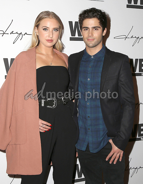 "29 January 2016 - Hollywood, California - Veronica Dunne, Max Ehrich. ""Daya"" By Zendaya Shoe Line Launch Party to be featured on an upcoming episode of WE tv's David Tutera's CELEBrations held at Raleigh Studios. Photo Credit: Parisa Michelle/AdMedia"
