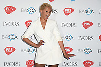 Gemma Cairney arriving for the Ivor Novello Awards 2018 at the Grosvenor House Hotel, London, UK. <br /> 31 May  2018<br /> Picture: Steve Vas/Featureflash/SilverHub 0208 004 5359 sales@silverhubmedia.com
