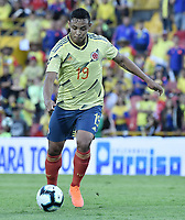 BOGOTA - COLOMBIA, 03-06-2019: Luis Muriel jugador de Colombia dispara para anotar el segundo gol de su equipo durante partido amistoso entre Colombia y Panamá jugado en el estadio El Campín en Bogotá, Colombia. / Luis Muriel player of Colombia shoots to score the second goal of his team during a friendly match between Colombia and Panama played at Estadio El Campin in Bogota, Colombia. Photo: VizzorImage/ Gabriel Aponte / Staff
