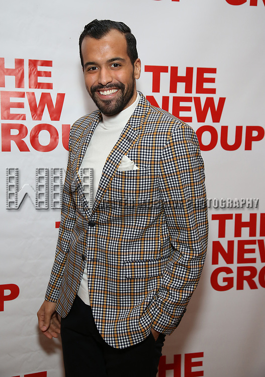 "Brandon Contreras attends the Off-Broadway Opening Night Premiere of  ""Jerry Springer-The Opera"" on February 22, 2018 at the Green Fig Urban Eatery in New York City."