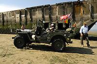 Normandia 1944-2004 60esimo dello sbarco alleato. Spiaggia di Arromanches