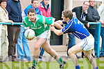 Kerins O'Rahilly's Morgan O'Shea and Milltown/Castlemaine's Colm Kearns.