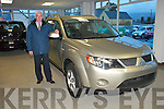 Pictured with the all new arrival from Mitsubishi, the Mitsubishi Outlander at Murphy Motors, Barraduff, on Tuesday is Donal Bradley, Sales Executive. The new Mitsubishi Outlander is now available to Test Drive and Order..
