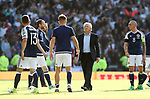 Scotland's Gordon Strachen looks on dejected at the final whistle during the FIFA World Cup Qualifying match at Hampden Park Stadium, Glasgow Picture date 10th June 2017. Picture credit should read: David Klein/Sportimage