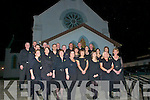 Choral Concert: The Kilflynn Church Choir pictured before their sellout Concert performance in Kilflynn Paris Church on Saturday night. Proceeds in aid of the ABA Autism, Scoil Realta Na Maidine, Listowel.
