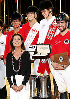 Princess Caroline of Hanover attends the  Pro-Am Cup Monaco during the Monte-Carlo Jumping