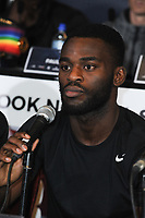 Joshua Buatis is pictured at the Undercard and Main Event press conference for Saturday May 5th's boxing at the 02 arena in London. May 3, 2018. Credit: Matrix/MediaPunch ***FOR USA ONLY***<br />