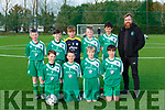The Castleisland AFC team that played Inter Kenmare in u12 Division 1 in Georgie O'Callaghan on Saturday front row l-r: Ben Brosnan, Jack foley, Finn Killington, Eoghan Joy. Back row: Noah Fitzgerald, Josh Ryan, Danny Hickey, Harry Crowley, Frank Wharton, and Noel Crowley