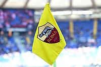 Corner flag with AS Roma logo <br /> Roma 31-3-2019 Stadio Olimpico Football Serie A 2018/2019 AS Roma - Napoli <br /> Foto Andrea Staccioli / Insidefoto