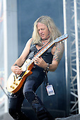 THE DEAD DAISIES - guitarist Doug Aldrich - performing live on Day One of the Ramblin' Man Fair in Mote Park Maidstone Kent UK - 23 Jul 2016. Photo credit: Zaine Lewis/IconicPix