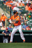 Baltimore Orioles shortstop J.J. Hardy (2) at bat during a Spring Training game against the Minnesota Twins on March 7, 2016 at Ed Smith Stadium in Sarasota, Florida.  Minnesota defeated Baltimore 3-0.  (Mike Janes/Four Seam Images)