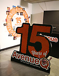 during the 'Avenue Q'  15th Anniversary Celebration matinee with Original Cast Members at the New World Stages on July 28, 2018 in New York City.