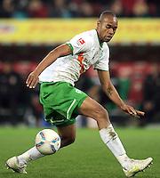 FUSSBALL   1. BUNDESLIGA  SAISON 2011/2012   10. Spieltag FC Augsburg - SV Werder Bremen           21.10.2011 Naldo (SV Werder Bremen)
