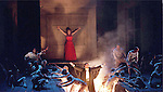 1999 - THE FLYING DUTCHMAN - Opera Pacifics 'The Flying Dutchman - The Flying Dutchman and his ghostly crew appear and overwhelm the mortal sailors of the Daland ship.