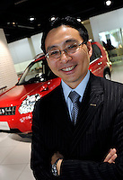 Celso Guiotoko, corporate vice president and global chief information officer of Nissan Motor Co., poses for a photo at the automaker's headquarters in Tokyo, Japan on 13 September 2008.<br />