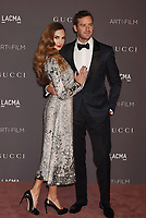 LOS ANGELES, CA - NOVEMBER 04: Actors Elizabeth Chambers (L) and Armie Hammer attend the 2017 LACMA Art + Film Gala Honoring Mark Bradford and George Lucas presented by Gucci at LACMA on November 4, 2017 in Los Angeles, California.<br /> CAP/ROT/TM<br /> &copy;TM/ROT/Capital Pictures