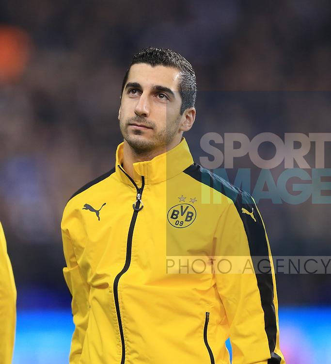 Dortmund's Henrikh Mkhitaryan in action during the Europa League match at White Hart Lane Stadium.  Photo credit should read: David Klein/Sportimage