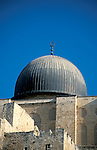 Israel, Jerusalem Old City. The dome of Al Aqsa Mosque&#xA;<br />