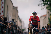 Sonny Colbrelli (ITA/Bahrain-Merida) at the Team presentation in La Roche-sur-Yon<br /> <br /> Le Grand Départ 2018<br /> 105th Tour de France 2018<br /> ©kramon
