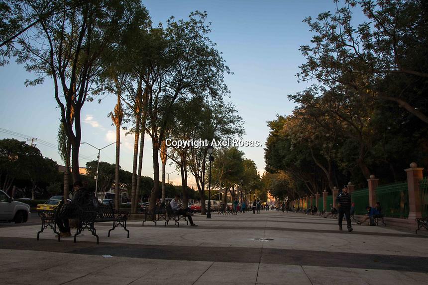 Querétaro, Qro. 15 de marzo de 2017.- Este día se presentó la nueva cara de la Alameda Hidalgo.