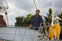 Sam Claflin stars in ADRIFT (2018)<br /> *Filmstill - Editorial Use Only*<br /> CAP/FB<br /> Image supplied by Capital Pictures