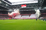 03.11.2019, Merkur Spielarena, Duesseldorf , GER, 1. FBL,  Fortuna Duesseldorf vs. 1. FC Koeln,<br />  <br /> DFL regulations prohibit any use of photographs as image sequences and/or quasi-video<br /> <br /> im Bild / picture shows: <br /> Choreo Duesseldorf <br /> <br /> Foto © nordphoto / Meuter