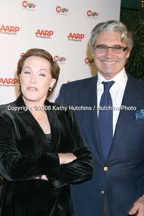 Julie Andrews & Michael Nouri.AARP The Magazine's  7th Annual Movies for Grownups Awards.Hotel Bel-Air.Los Angeles, CA.February 4, 2008.©2008 Kathy Hutchins / Hutchins Photo....
