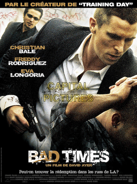 FRENCH POSTER ART<br /> in Harsh Times (2005) <br /> (Bad Times)<br /> *Filmstill - Editorial Use Only*<br /> CAP/NFS<br /> Image supplied by Capital Pictures