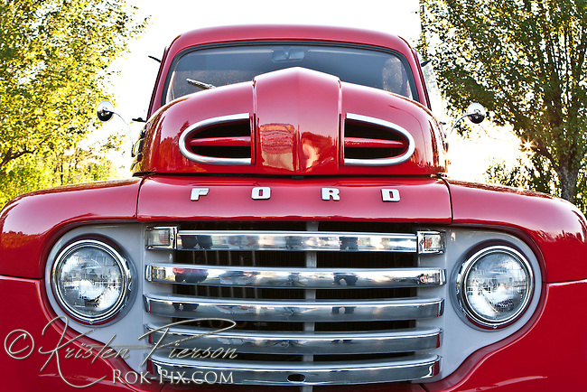 Antique Red Ford