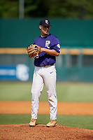 Austin Grause (19) of Gaither High School in Tampa, FL during the Perfect Game National Showcase at Hoover Metropolitan Stadium on June 20, 2020 in Hoover, Alabama. (Mike Janes/Four Seam Images)