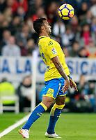 UD Las Palmas' Michel Macedo during La Liga match. November 5,2017. (ALTERPHOTOS/Acero)