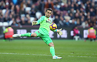 West Ham United's Lukasz Fabianski<br /> <br /> Photographer Rob Newell/CameraSport<br /> <br /> The Premier League - West Ham United v Burnley - Saturday 3rd November 2018 - London Stadium - London<br /> <br /> World Copyright &copy; 2018 CameraSport. All rights reserved. 43 Linden Ave. Countesthorpe. Leicester. England. LE8 5PG - Tel: +44 (0) 116 277 4147 - admin@camerasport.com - www.camerasport.com
