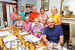 Tom and Mary Murphy celebrating their anniversary with family in Bella Bia on Saturday.<br /> Seated l-r, Deirdre Buckley, Tom and Mary Murphy and Ger Buckley.<br /> Back l-r, Aisling, Conor and Darragh Ui Nuallain,  Enda and Evelyn Murphy and Siobhan O Nuallain.
