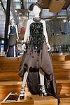 Florence Green dress shown at the Catherine Martin and Muccia Prada Dress Gatsby display at Prada store in SOHO, NYC May 4, 2013.
