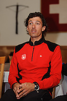 MELBOURNE, 27 SEPTEMBER - Swiss rider Fabian Cancellara at the Swiss team's press conference ahead of the 2010 UCI Road World Championships held at the Swiss Club in Melbourne, Australia (Photo Sydney Low / syd-low.com)