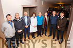 The Valentia Island Community Hospital Committee responsible for the upgrading of their facility in Knightstown at the advance preview on Thursday last were l-r; Con O'Shea, Jackie O'Sullivan, P.J.O'Sullivan(Chairman), Colette O'Connor(Secretary), Dr. Brian Donovan, Muiris O'Donoghue, Tony Curran & John Patrick Falvey.