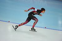 OLYMPICS: SOCHI: Adler Arena, 13-02-2014, 1000m Ladies, Gabriele Hirschbichler (GER), ©foto Martin de Jong