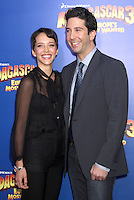 Zoe Buckman and David Schwimmer at the NY premiere of Madagascar 3: Europe's Most Wanted at the Ziegfeld Theatre in New York City. June 7, 2012. © RW/MediaPunch Inc. NORTEPHOTO.COM
