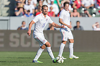Carson, CA - Sunday, February 8, 2015 Perry Kitchen (15) of the USMNT. The USMNT defeated Panama 2-0 during an international friendly at the StubHub Center