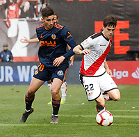 2019.04.06 La Liga Rayo Vallecano VS Valencia CF