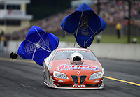 Oct. 6, 2012; Mohnton, PA, USA: NHRA pro stock driver Ronnie Humphrey during qualifying for the Auto Plus Nationals at Maple Grove Raceway. Mandatory Credit: Mark J. Rebilas-