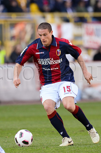 Diego Perez (Bologna), MARCH 6, 2011 - Football : Italian  Series A  match between Bologna 2-2 Cagliari at Renato Dall'Ara Stadium in Bologna, Italy.