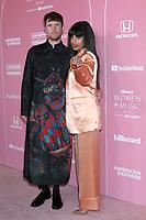 LOS ANGELES - DEC 12:  James Blake, Jameela Jamil at the 2019 Billboard Women in Music Event at Hollywood Palladium on December 12, 2019 in Los Angeles, CA