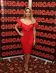 Shiri Maimon attends a photo call for her Broadway debut as Roxie Hart in 'Chicago' on September 7, 2018 at Sardi's in New York City.