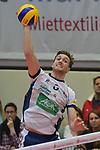 06.01.2018,  Lueneburg GER, VBL, SVG Lueneburg vs TV Buehl im Bild Einzelaktion Hochformat Cody Kessel (Lueneburg #05) / Foto © nordphoto / Witke