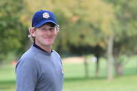 Brandt Snedeker (USA) at the USA Team photo shoot during Monday's Practice Day of the 39th Ryder Cup at Medinah Country Club, Chicago, Illinois 25th September 2012 (Photo Eoin Clarke/www.golffile.ie)