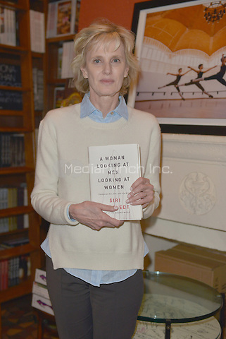 CORAL GABLES, FL - FEBRUARY 20: Author Siri Hustvedt discussing and sign copies of her new book 'A Woman Looking at Men Looking at Women: Essays on Art, Sex, and the Mind' at Books and Books on February 20, 2017 in Coral Gables, Florida.  Credit: MPI10 / MediaPunch