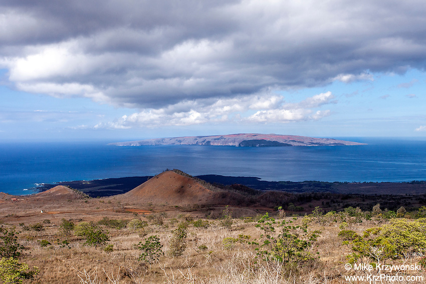 View of Kaho'olawe from Maui